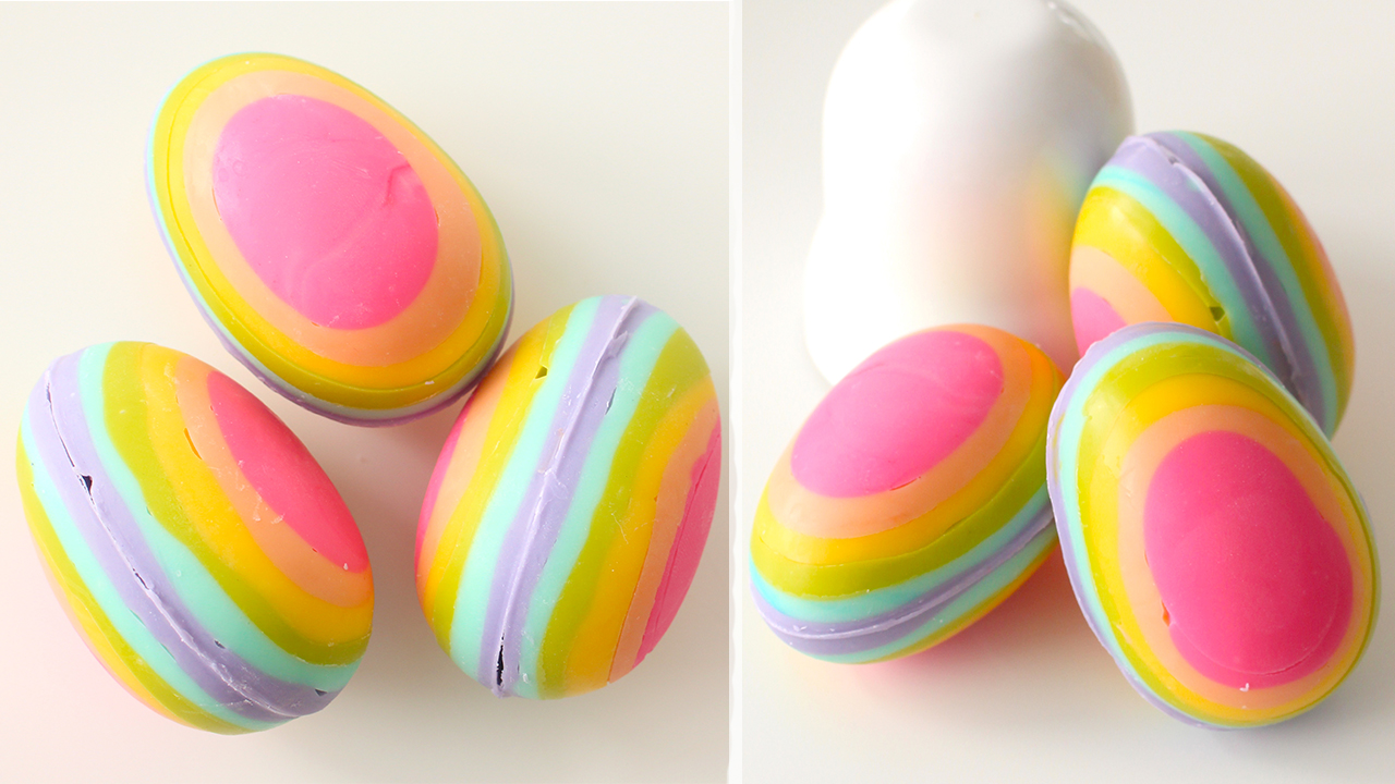candy eggs names pankobunny rainbow chocolate eggs 虹色のチョコエッグ 10147