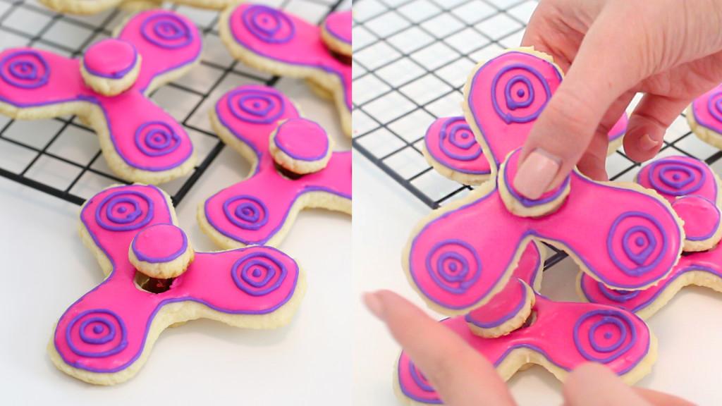 fidgetspinnercookies